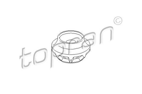 Ložisko pružnej vzpery TOPRAN - gumove ulozenie