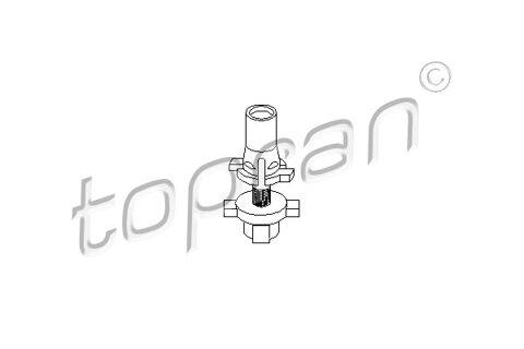 Držiak hlavného svetlometu TOPRAN  -