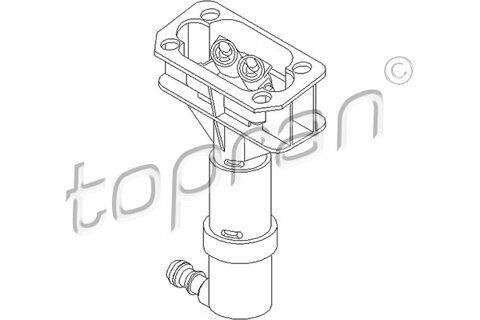 Tryska ostrekovača svetiel TOPRAN  -