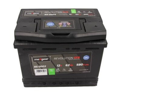štartovacia batéria MAXGEAR - 12V, 62Ah, 580A, 242mm
