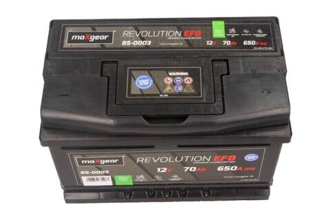 štartovacia batéria MAXGEAR - 12V, 70Ah, 650A, 278mm