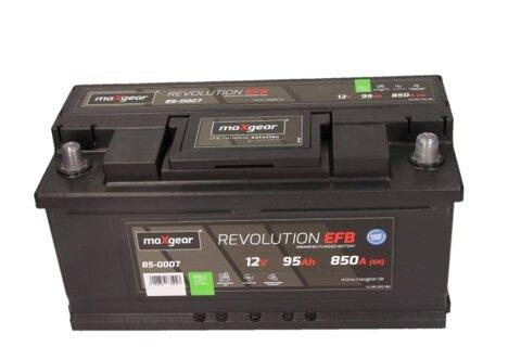 štartovacia batéria MAXGEAR - 12V, 95Ah, 850A, 353mm