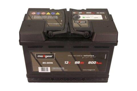štartovacia batéria MAXGEAR - 12V, 88Ah, 800A, 278mm