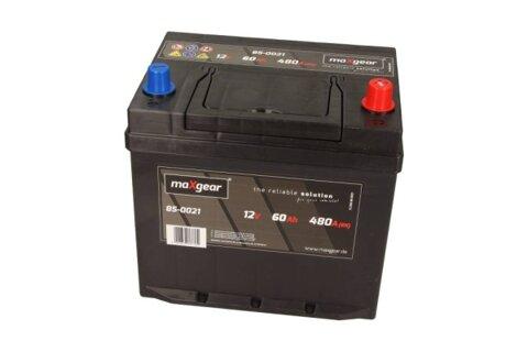 štartovacia batéria MAXGEAR - 12V, 60Ah, 480A, 230mm