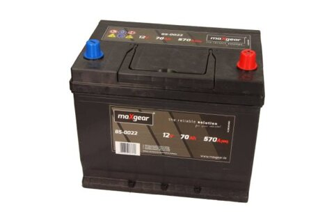 štartovacia batéria MAXGEAR - 12V, 70Ah, 570A, 261mm