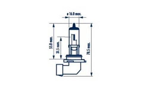 Žiarovky HB4 NARVA Range Power Blue +  - HB4, 12V, 51W, P22d