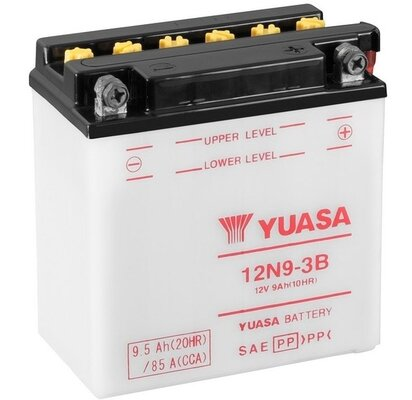 štartovacia batéria YUASA Conventional 12 Volt - 12V, 9,5Ah, 135mm