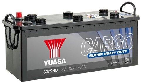 štartovacia batéria YUASA Cargo Super Heavy Duty Batteries (SHD) - 12V, 900A, 143Ah, 513mm