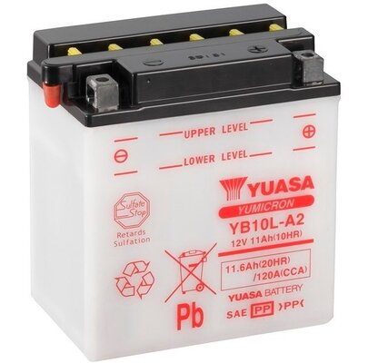štartovacia batéria YUASA YuMicron - 12V, 11,6Ah, 135mm