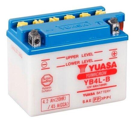 štartovacia batéria YUASA YuMicron - 12V, 4,2Ah, 121mm