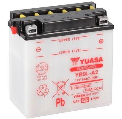 štartovacia batéria YUASA YuMicron - 12V, 9,5Ah, 135mm