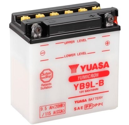 štartovacia batéria YUASA YuMicron - 12V, 9,5Ah, 137mm