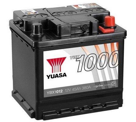 štartovacia batéria YUASA YBX1000 CaCa Batteries - 12V, 380A, 45Ah, 207mm