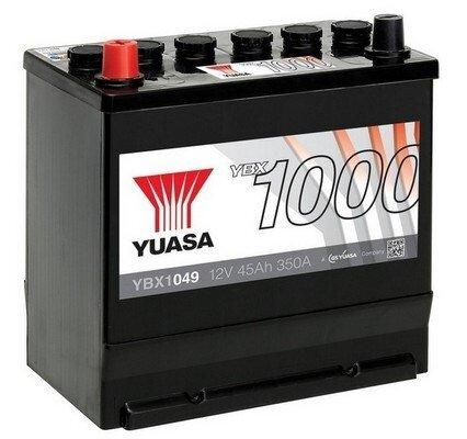 štartovacia batéria YUASA YBX1000 CaCa Batteries - 12V, 350A, 45Ah, 220mm