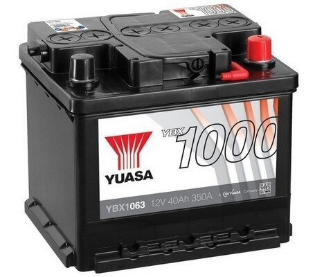 štartovacia batéria YUASA YBX1000 CaCa Batteries - 12V, 360A, 40Ah, 207mm
