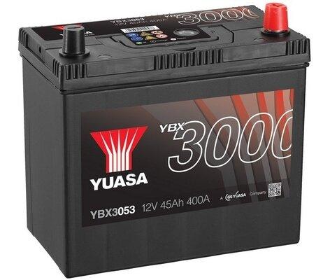 štartovacia batéria YUASA YBX3000 SMF Batteries - 12V, 400A, 45Ah, 238mm