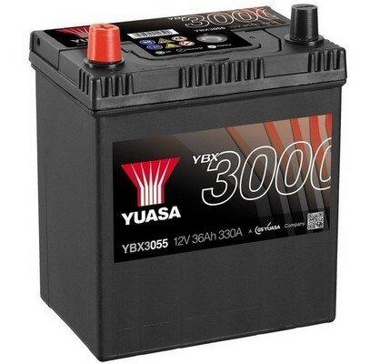 štartovacia batéria YUASA YBX3000 SMF Batteries - 12V, 330A, 36Ah, 187mm