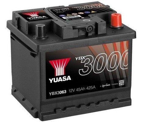 štartovacia batéria YUASA YBX3000 SMF Batteries - 12V, 440A, 45Ah, 207mm