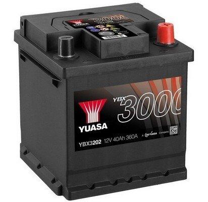 štartovacia batéria YUASA YBX3000 SMF Batteries - 12V, 390A, 42Ah, 175mm