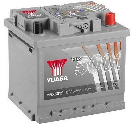 štartovacia batéria YUASA YBX5000 Silver High Performance SMF Batteries - 12V, 500A, 54Ah, 207mm