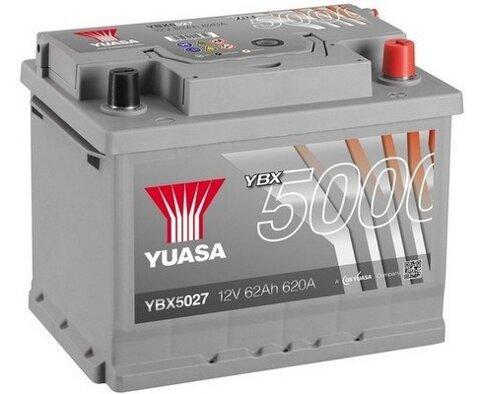 štartovacia batéria YUASA YBX5000 Silver High Performance SMF Batteries - 12V, 640A, 65Ah, 243mm