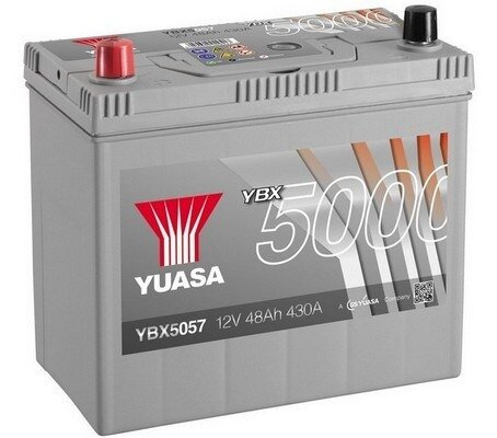 štartovacia batéria YUASA YBX5000 Silver High Performance SMF Batteries - 12V, 450A, 50Ah, 238mm