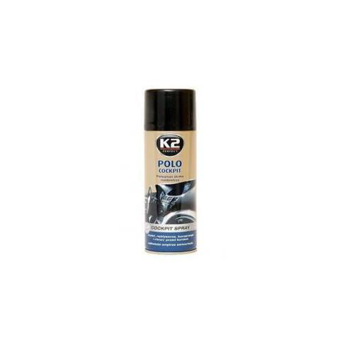 K2 POLO COCKPIT 400ml - spray na leštenie palubných dosiek