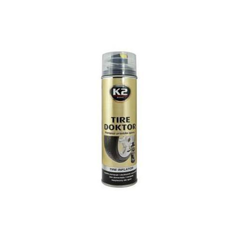 K2 TIRE DOKTOR 535ml - na utesnenie prepichnutých pneumatík