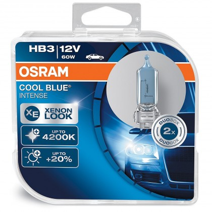 OSRAM  Cool Blue Intense Box HB3 P20d 12V 60W