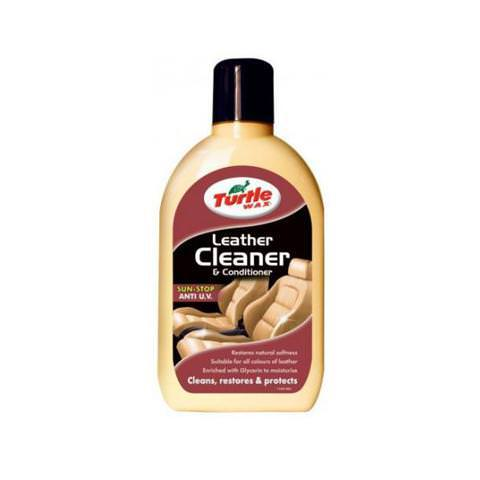 Turtle Wax Leather Cleaner - čistič a ochrana kože 500ml