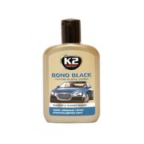 K2 Bono Black 200ml - čiernidlo na plasty a pneu