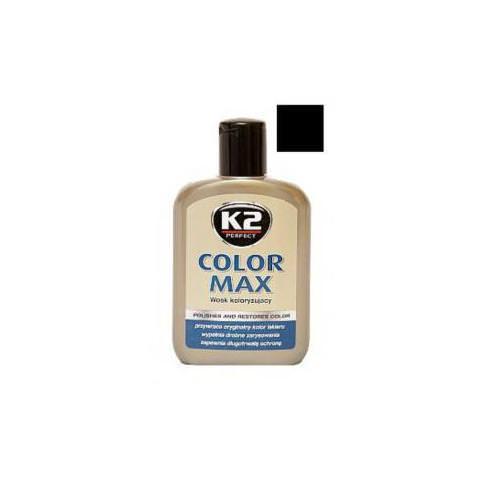 K2 COLOR MAX 200ml čierny - vosk na lak karosérie
