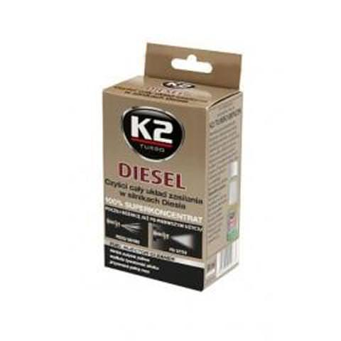 K2 DIESEL 50ml - čistič naftovej palivovej sústavy