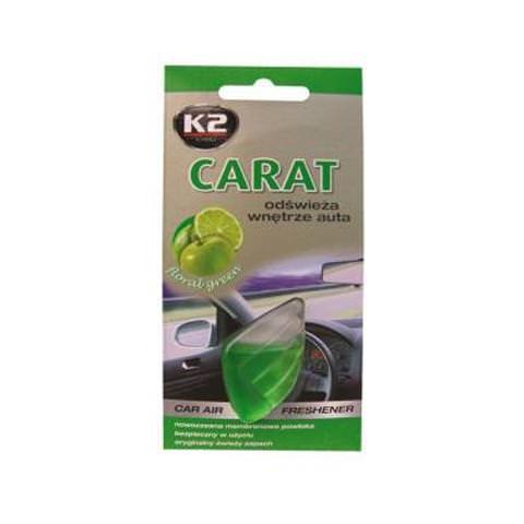 K2 CARAT floral green - membránová vôňa do auta