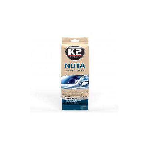 K2 NUTA - antistatické vlhčené utierky na čistenie skiel