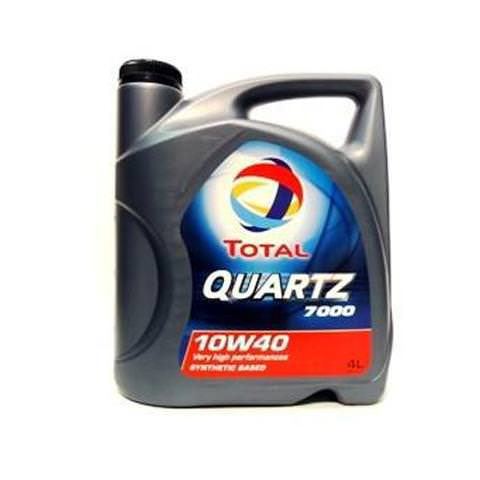 TOTAL  Motorový olej Quartz 7000 10W-40 4L