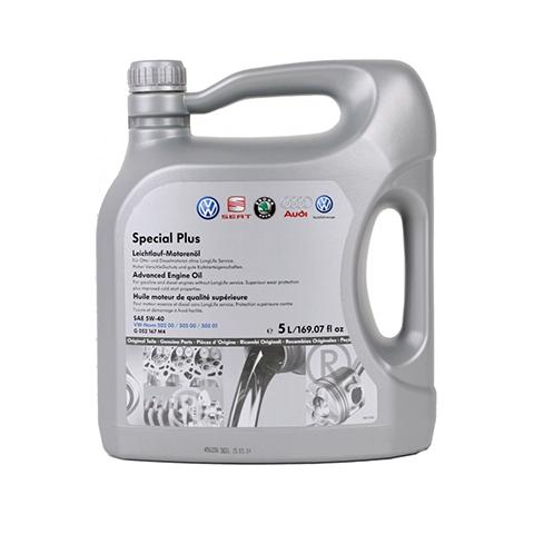VW OE  Motorový olej VAG 5W-40 502.00/505.01 5L