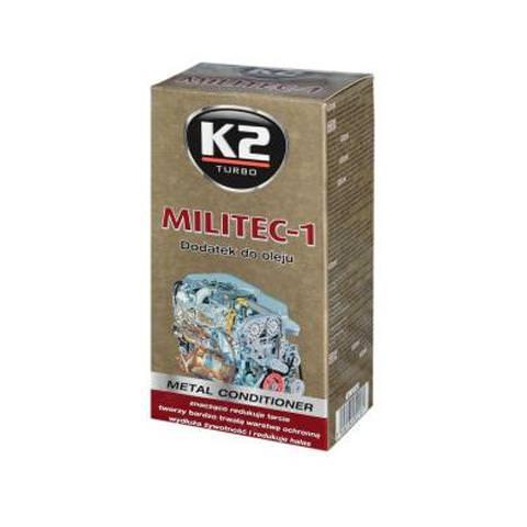 K2 MILITEC-1 250ml - 100% syntetická prísada do oleja