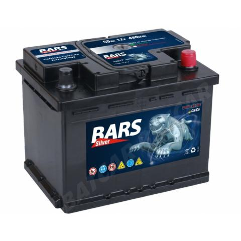 Autobatéria Bars Silver 55Ah