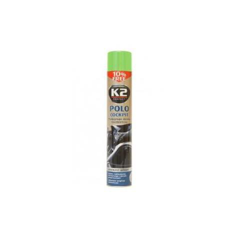 K2 POLO COCKPIT ZELENÉ JABLKO 750ml - spray na leštenie palubných dosiek