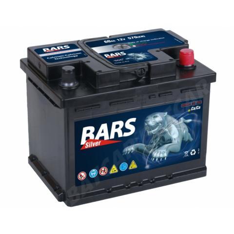 Autobatéria Bars Silver 60Ah