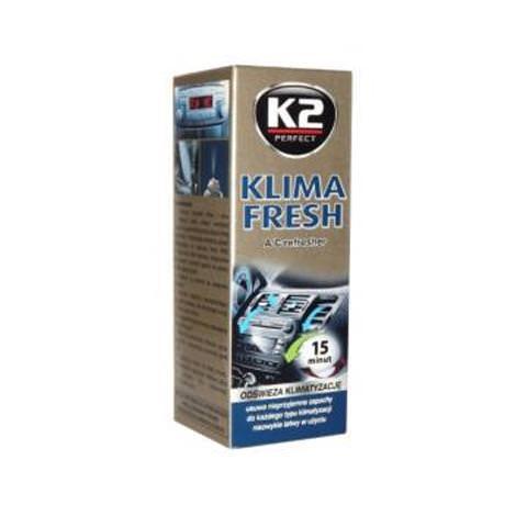 K2 Klima fresh dezinfekcia klimatizácie 150ml